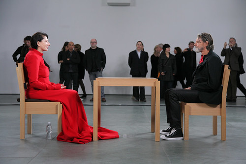 Opening Reception for Marina Abramovic: The Artist Is Present