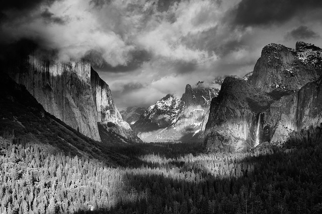 Transitions - Tunnel View, Yosemite National Park, California