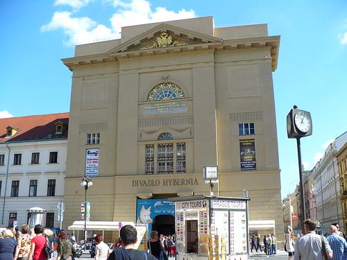 Praha - Divadlo Hybernia, Marionettentheater, u. Namesti Repybliky