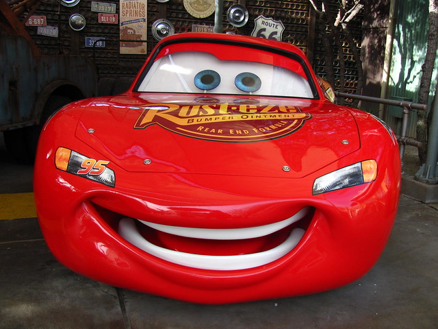 Lightning Mcqueen At Radiator Springs