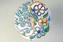 art, pattern, turquoise, circle,