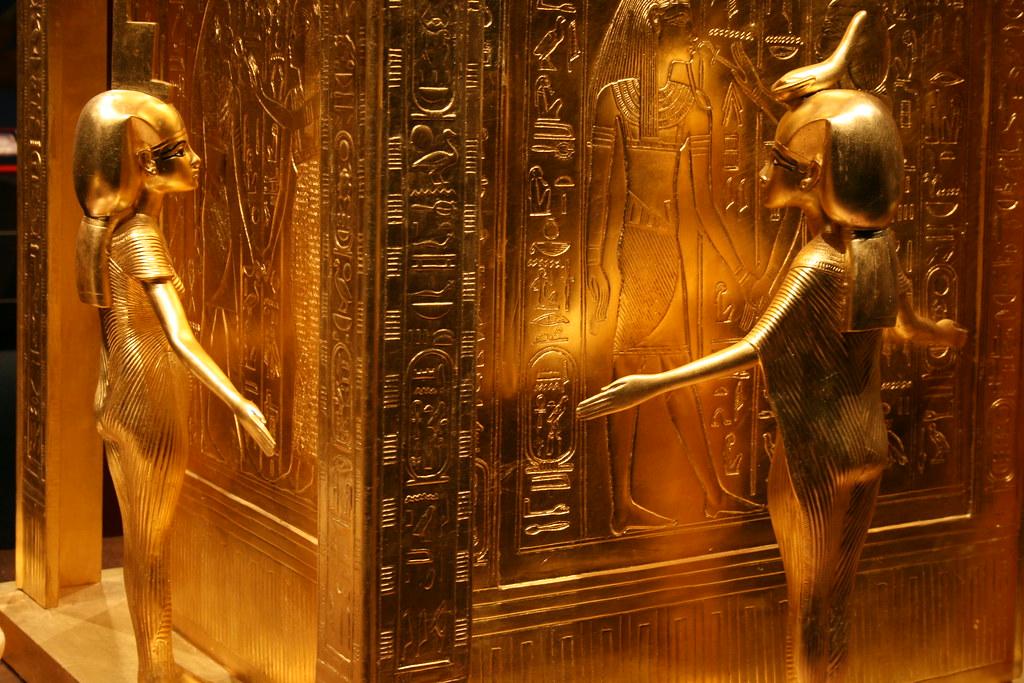 Tutanchamun Ausstellung/Tutankhamun Exhibition in Hamburg