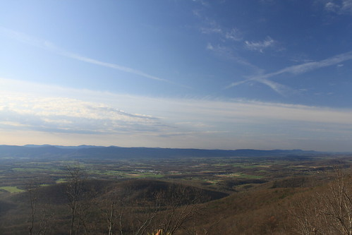 morning sky clouds landscape virginia spring view hike westvirginia shenandoahvalley georgewashingtonnationalforest
