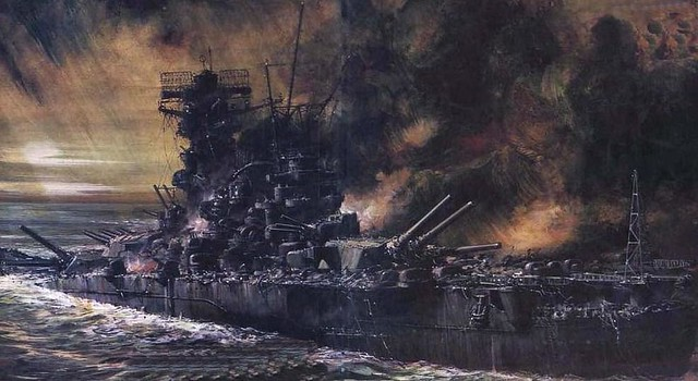 IJN Musashi Wreck Photos http://www.flickr.com/photos/36758831@N04/4499650834/