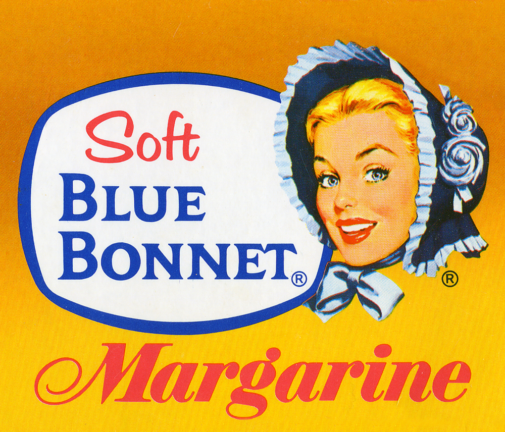 's Blue Bonnet Butter Margarine Vote For Little Sister Pin Pinback Button. $ Top Rated Plus. Sellers with highest buyer ratings; Returns, money back Blue Bonnet Margarine Ad - Mrs. Lauritz Melchior. $ Buy It Now. Free Shipping. Blue Bonnet Margarine adv premium