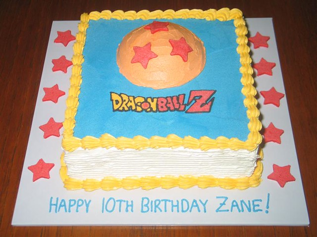 Cake Arch Balloon Design : Dragon Ball Z Cake Flickr - Photo Sharing!