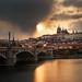 Hradčany Sunset by Philipp Klinger Photography