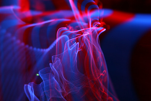 blue light red abstract color colour art canon denmark eos exposure trails led trail lys danmark spor jumprope skippingrope diode skiprope sooc 400d ledrope lysspor ledjumprope