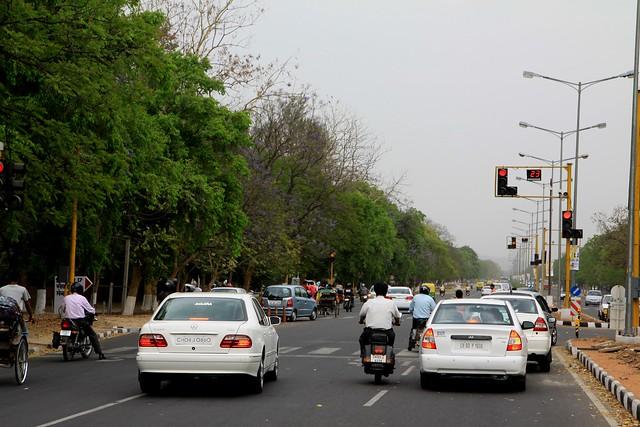 chandigarh streets