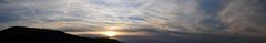 Panorama Sunset Switzerland Region Basel