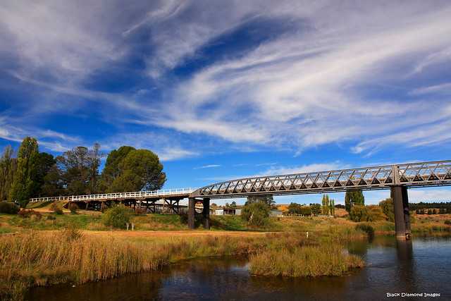 Dalgety Bridge (Built 1888) - Dalgety, NSW