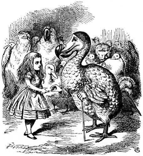 Lewis Carroll's dodo