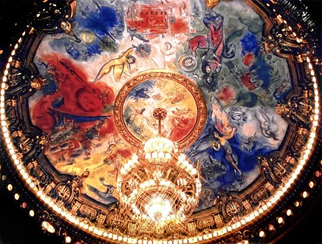 Marc Chagall Mural, Paris Opera