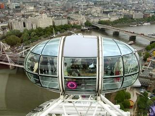 London Eye Capsule below