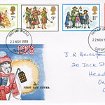 22-Nov-1978 UK First Day Cover
