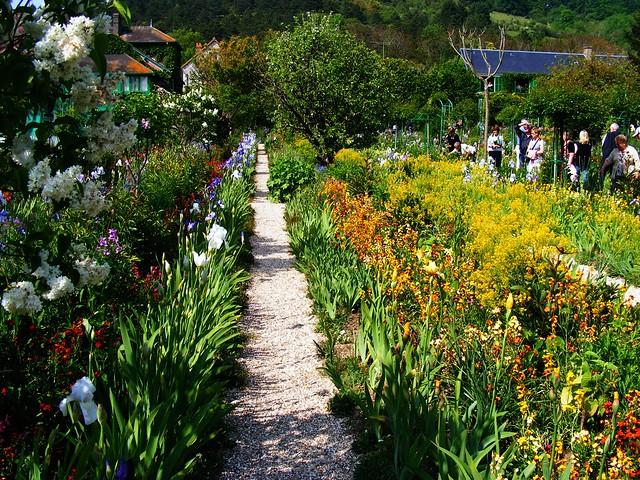 Monet's walled garden