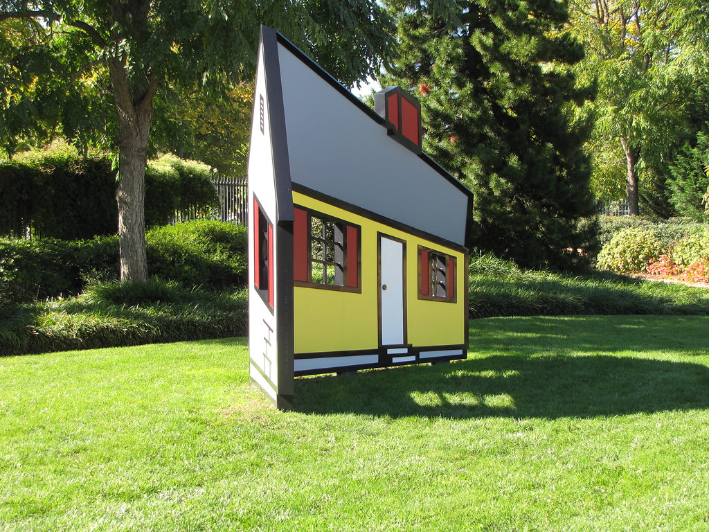 Roy Lichtenstein: House I (1996/1998)