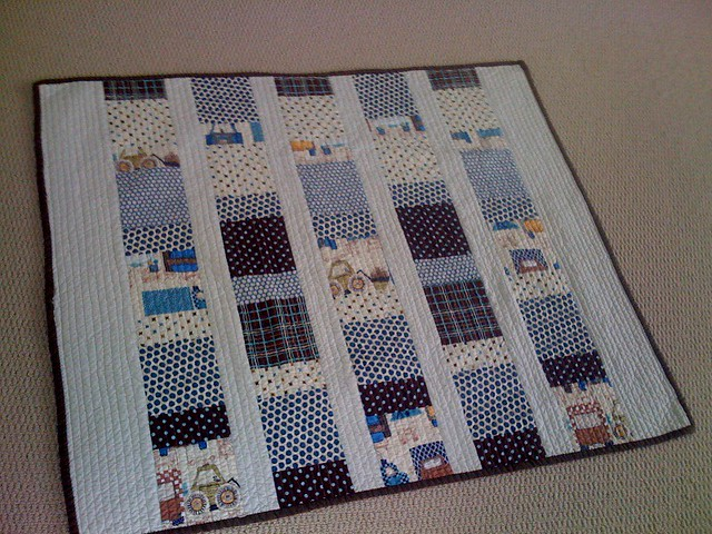 Charm Squares Quilt - Boy Flickr - Photo Sharing!