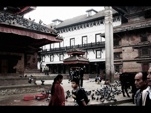 Durbar Square (in Technicolor!)