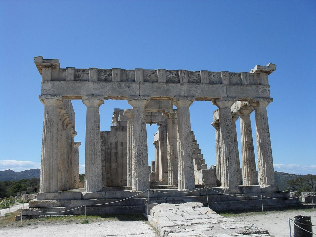 Templo de Afaia en Egina