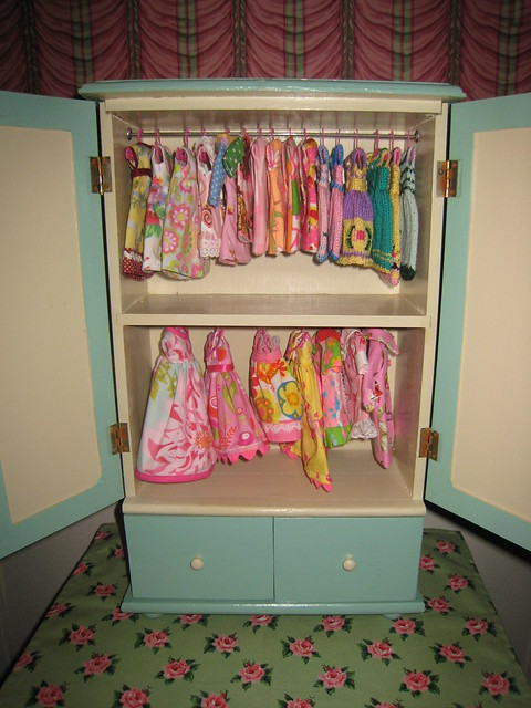 Doll clothes closets ! - a gallery on Flickr
