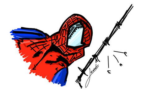 spider disegno by Giuseppe Lombardi