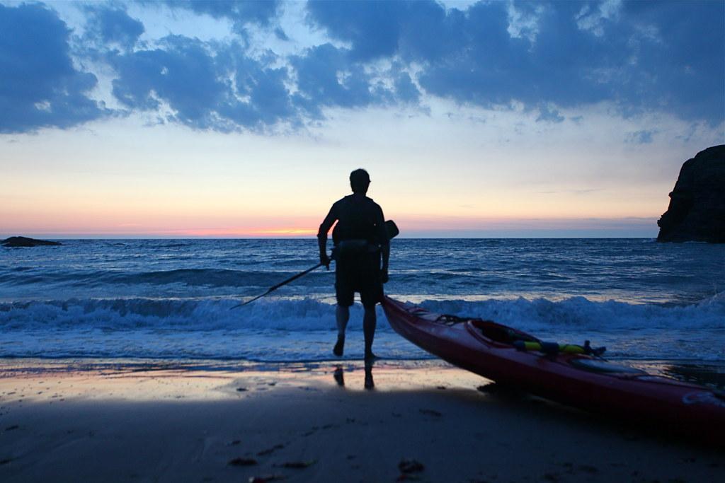 Sea kayaking in Wales