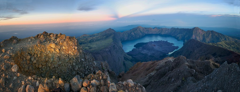 Gunung Rinjani Summit