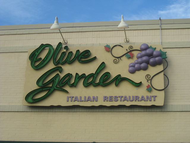 Olive Garden Sign Flickr Photo Sharing