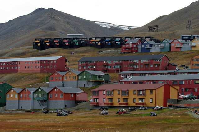 Houses of Longyearbyen