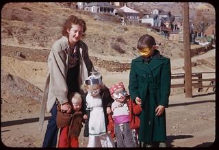 Pre-Halloween Party Group - Central City, Colorado.