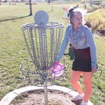 Veronica retrieving her first ever ACE!!