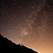 Hoy en día la alta contaminación lumínica en las ciudades nos priva de este espectáculo nocturno. Bóveda celeste en un día sin luna.Tétela de Ocampo. por Gع®