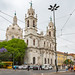 Lisbon - Basilica da Estrela by Lyall Bouchard