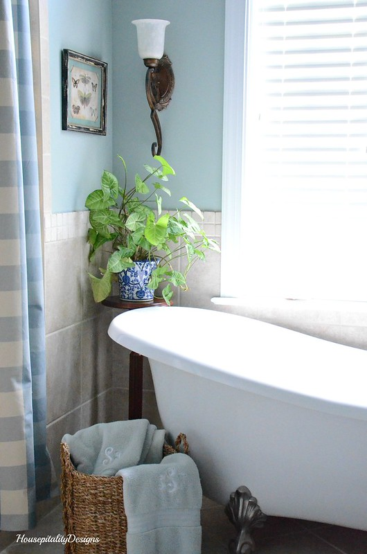 Master Bathroom-Clawfoot Tub-Housepitality Designs