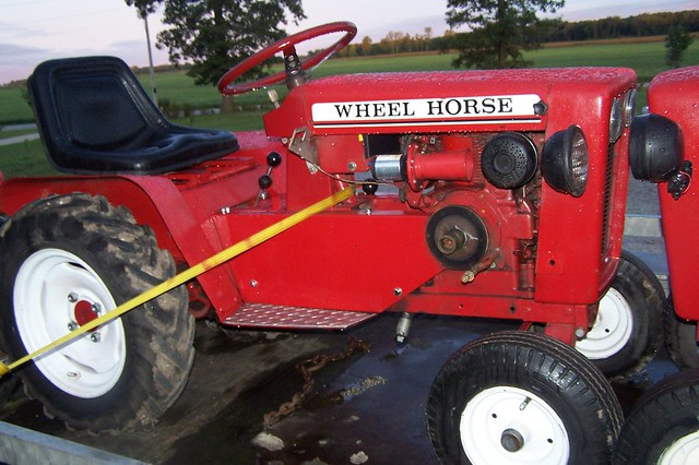 1964 Wheel Horse Tractor : Wheel horse tractor flickr photo sharing