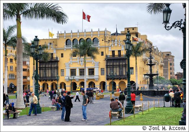 Lima (Perú). Palacio de la Unión.