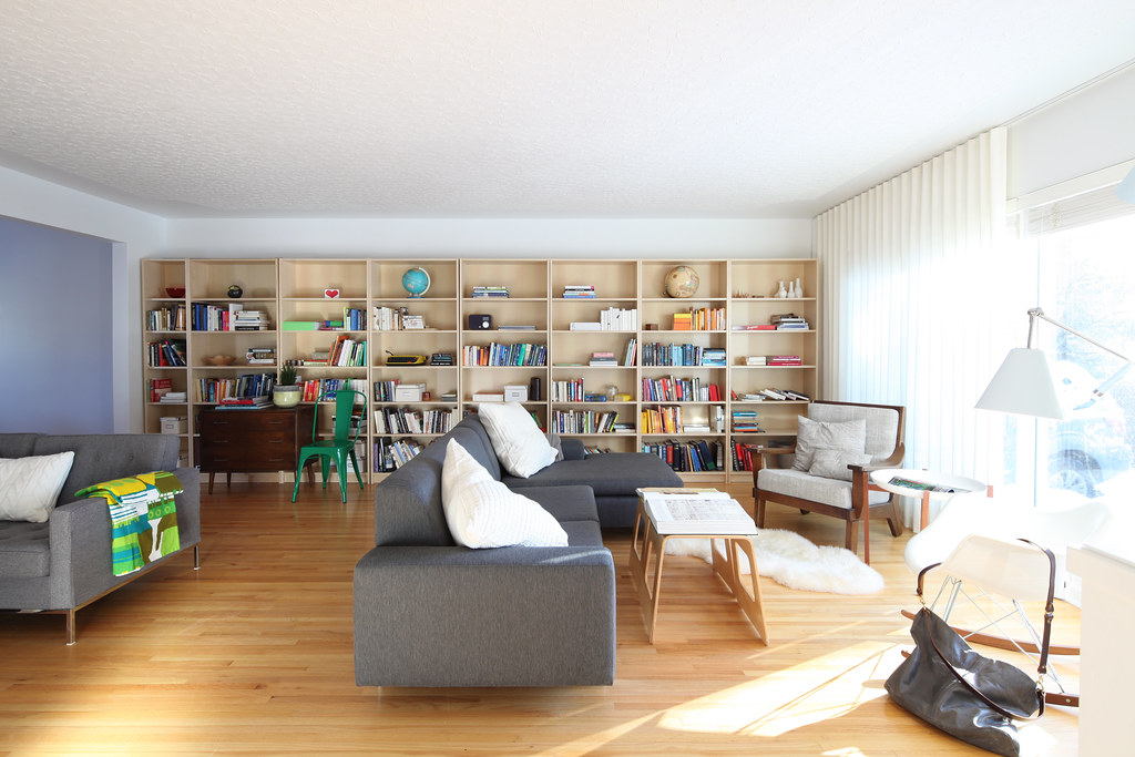 Living Room/ Library project