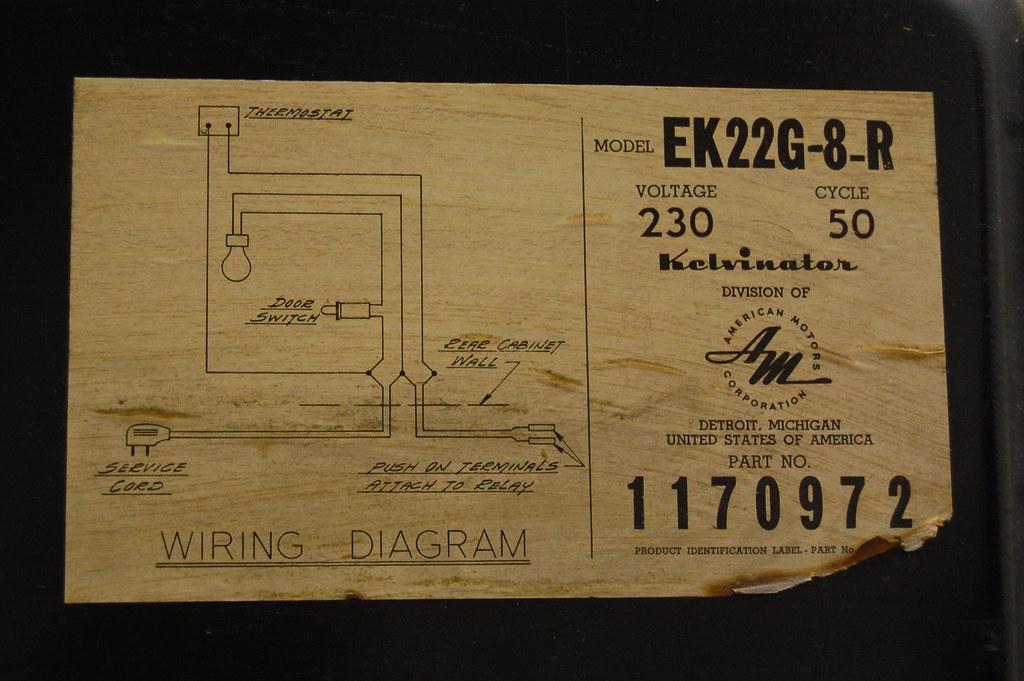 Kelvinator Refrigerator Wiring Diagram : Official fridge transformation thread the garage journal board