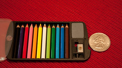 Ridiculously Tiny Colored Pencils