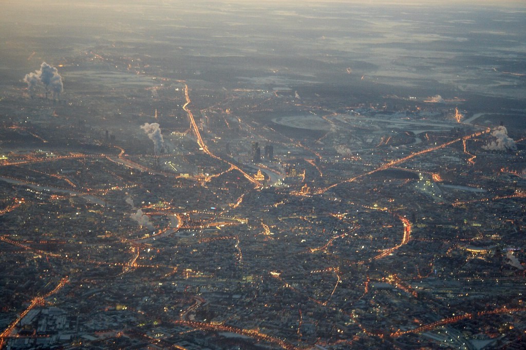 Moscow at Evening by Andrey Belenko, on Flickr