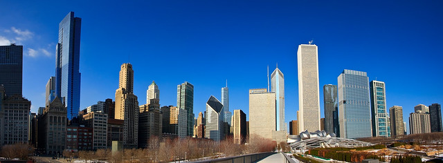 Wide angle Chicago