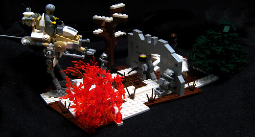 The Hx 400 Scout Walker A Lego Creation By Legolord