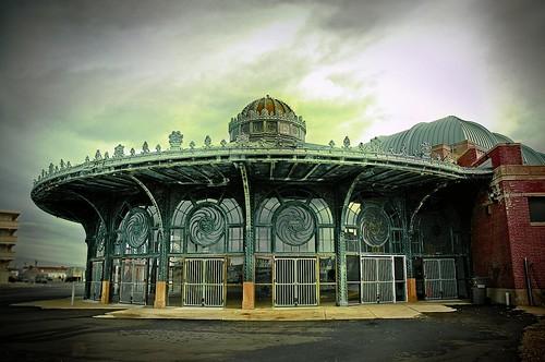 vintage newjersey asburypark carousel casino monmouthcounty jerseyshore carouselhouse oldandbeautiful unlimitedphotos
