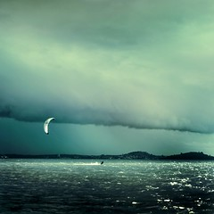 Kite Surfer / Sky / Ocean / Photography