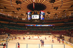 Rangers Vs. Carolina Hurricanes 1/27/10, Madison Square Garden
