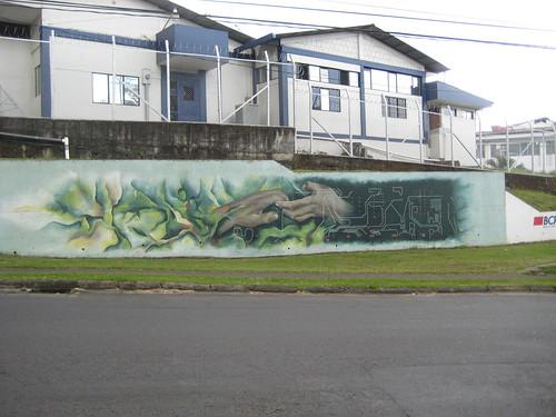 Mural in Alajuela
