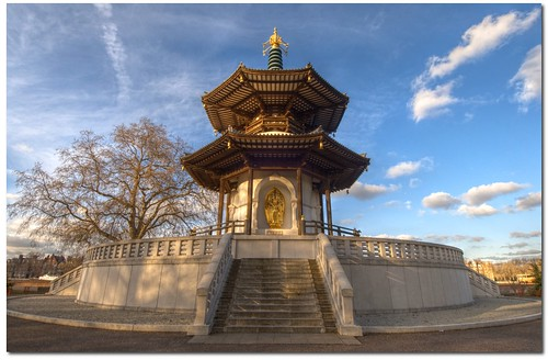 Peace Pagoda in HDR