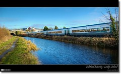 Irish Rail InterCity at Louisa Bridge