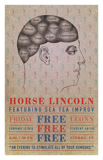 Sea Tea Improv Poster February 12 Show